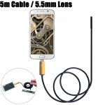 NV99-G5-5.5 2 in 1 5.5mm Lens Android PC Endoscope