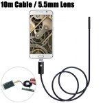 NV99-B10-5.5 2 in 1 5.5mm Lens Android PC Endoscope