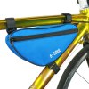 Buy B-SOUL 1.5L Bicycle Front Tube Triangle Bag BLUE