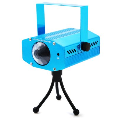 BRELONG RGB Laser ProjectorStage Lighting<br>BRELONG RGB Laser Projector<br><br>Model: R20<br>Type: Projector Lamp,Laser Light,LED Effects Stage Light,RGB Stage Light<br>Laser Color: RGB Light<br>Output Power (W): 3W<br>Function: For party,For Decoration<br>Shape: Laser Projector<br>Body Color: Blue<br>Material: Aluminum Alloy<br>Product weight: 0.360 kg<br>Package weight: 0.450 kg<br>Product Size(L x W x H): 5.20 x 9.30 x 12.30 cm / 2.05 x 3.66 x 4.84 inches<br>Package size (L x W x H): 9.80 x 10.30 x 13.30 cm / 3.86 x 4.06 x 5.24 inches<br>Package Contents: 1 x RGB Stage Light, 1 x Tripod, 1 x Power Adapter,1 x Remote Controller, 1 x English Manual