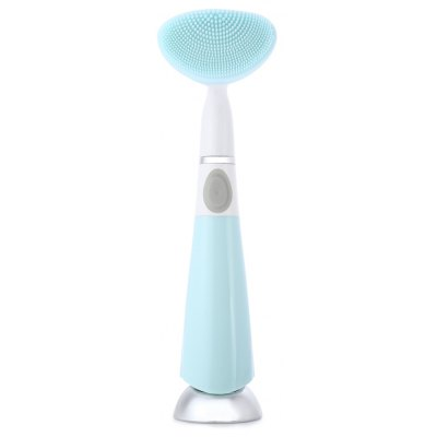 Electric Pore Sonic Cleanser with Silicone Round Pattern
