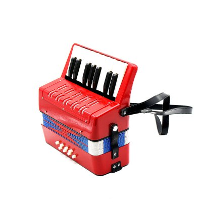 Musical Instrument 17 Key Accordion