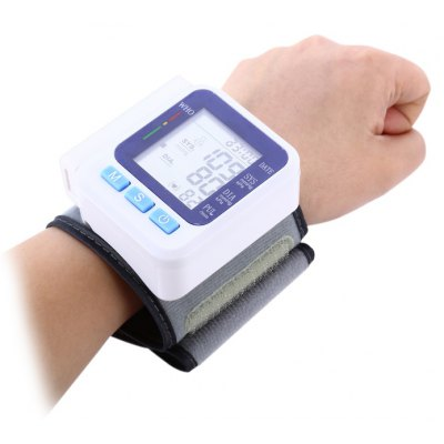 BP668 Automatic Wrist Blood Pressure Monitor with LCD Display