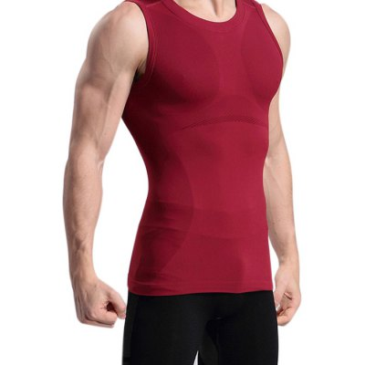 Men Breathable Sweat-absorbent Tight Vest