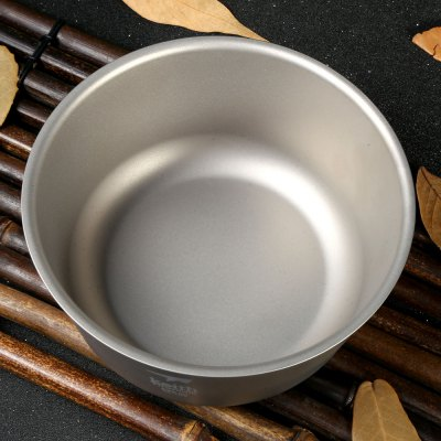 Keith KT322 550mL Strong Double-wall Titanium Bowl