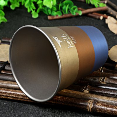 Keith Ti9016 350mL Colorful Titanium Cup for Camping