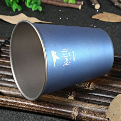 Keith Ti9011 350mL Blue Titanium Cup for CampingCamp Kitchen<br>Keith Ti9011 350mL Blue Titanium Cup for Camping<br><br>Brand: Keith<br>Model Number: Ti9011<br>Type: Tableware<br>Material: Titanium<br>Color: Blue<br>Best Use: Backpacking,Camping,Climbing,Hiking<br>Features: Durable,Easy to use,Ultralight<br>Capacity: 300-400ml<br>Product weight: 0.035 kg<br>Package weight: 0.150 kg<br>Product Dimension: 8.80 x 8.80 x 10.00 cm / 3.46 x 3.46 x 3.94 inches<br>Package Dimension: 9.20 x 9.20 x 10.70 cm / 3.62 x 3.62 x 4.21 inches<br>Package Contents: 1 x Keith Ti9011 Titanium Cup