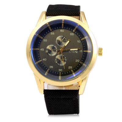 S-56 Business Style Large Dial Male Quartz Watch