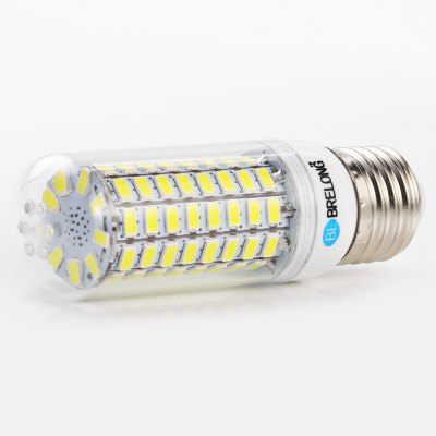 3PCS BRELONG 89 x SMD5730 8 - 9W 1800LM E27 LED Corn BulbCorn Bulbs<br>3PCS BRELONG 89 x SMD5730 8 - 9W 1800LM E27 LED Corn Bulb<br><br>Brand: BRELONG<br>Holder: B22,E14,E27,G9,GU10<br>Type: Corn Bulbs<br>Output Power: 8 - 9W<br>Emitter Types: SMD 5730<br>Total Emitters: 89<br>Luminous Flux: 1800LM<br>CCT/Wavelength: 3000-3500K,6000-6500K<br>Voltage (V): AC 220-240<br>Features: Energy Saving,Long Life Expectancy<br>Function: Commercial Lighting,Home Lighting,Studio and Exhibition Lighting<br>Available Light Color: Warm White,White<br>Sheathing Material: PC<br>Product weight: 0.039 kg<br>Package weight: 0.155 kg<br>Product size (L x W x H): 3.10 x 3.10 x 10.00 cm / 1.22 x 1.22 x 3.94 inches<br>Package size (L x W x H): 10.30 x 4.10 x 11.00 cm / 4.06 x 1.61 x 4.33 inches<br>Package Contents: 3 x BRELONG LED Corn Light