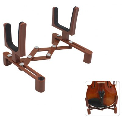 Foldable Plastic Bracket Stand Accessory for Violin Player