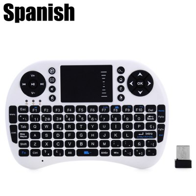UKB-500-RF 2.4G Wireless Spanish Keyboard