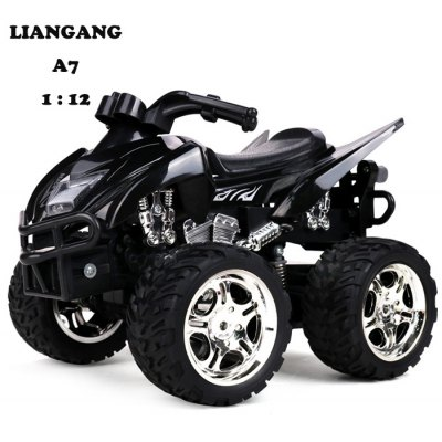 LIANGANG A7 1 : 12 2.4GHz 6 Channel Realistic Anti-collision Motorcycle RTR
