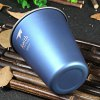 Keith Ti9011 350mL Blue Titanium Cup for Camping deal