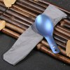best Keith Ti5714 Blue Titanium Spoon Tableware for Camping