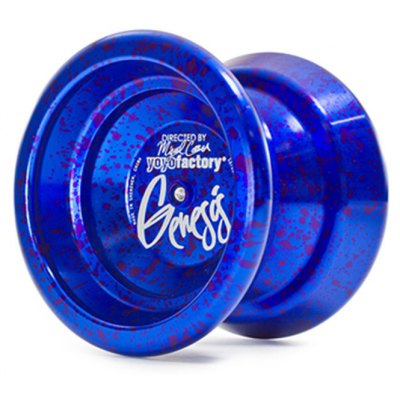 YoYoFactory GENESIS Yoyo H Shape Aluminum Alloy Competition Game Splattering Color Yo-Yo