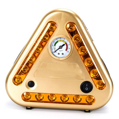 JS-1011 Multi-function Car Inflating Inflation PumpOther Car Gadgets<br>JS-1011 Multi-function Car Inflating Inflation Pump<br><br>Display type: Dial panel<br>Test Unit/Mode: kg/c?<br>Material: ABS,Metal<br>Color: Gold<br>Product weight: 0.869 kg<br>Package weight: 1.112 kg<br>Product size (L x W x H): 20.00 x 20.00 x 7.50 cm / 7.87 x 7.87 x 2.95 inches<br>Package size (L x W x H): 26.00 x 25.00 x 12.00 cm / 10.24 x 9.84 x 4.72 inches<br>Package Contents: 1 x Car Inflating Pump, 3 x Air Tap Accessory