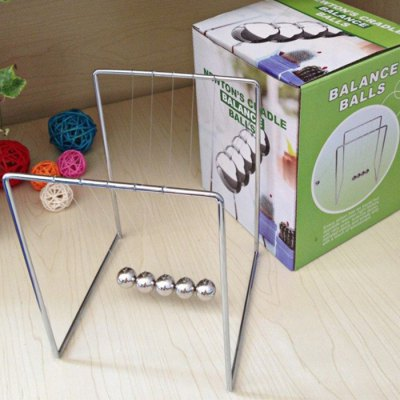 Balance Ball Newton Cradle Physical Pendulum Educational Toy