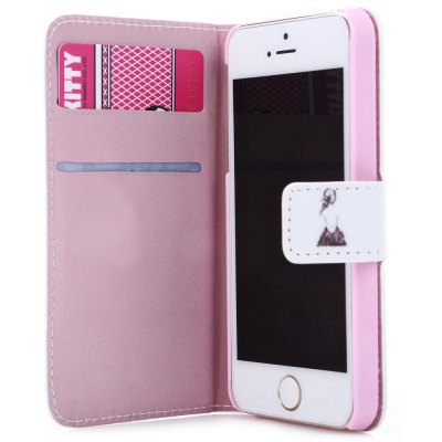 Protective PU Leather Flip Case for iPhone SE / 5S / 5 MagnetismiPhone Cases/Covers<br>Protective PU Leather Flip Case for iPhone SE / 5S / 5 Magnetism<br><br>Features: Anti-knock,Cases with Stand,FullBody Cases<br>Material: PC,PU Leather<br>Style: Pattern<br>Product weight: 0.036 kg<br>Package weight: 0.074 kg<br>Product size (L x W x H): 12.70 x 6.70 x 1.50 cm / 5.00 x 2.64 x 0.59 inches<br>Package size (L x W x H): 17.00 x 9.00 x 1.90 cm / 6.69 x 3.54 x 0.75 inches<br>Package Contents: 1 x Protective Case