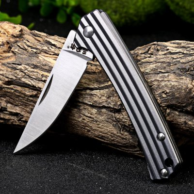 Sanrenmu 7112 RUC-LK Folding Knife with Clip