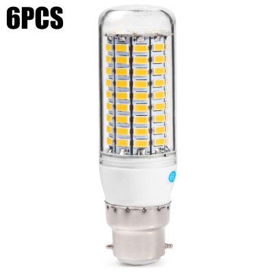 6PCS BRELONG B22 12 - 15W 1000 - 1200LM 99 x SMD5730 LED Corn Light Lamp