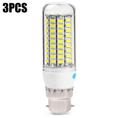 3pcs BRELONG B22 99 x SMD5730 20W 1500LM LED Corn Bulb