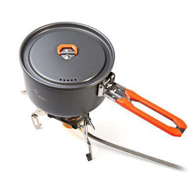 Fire-Maple FMS-121 Folding Windproof Split Gas StoveCamp Kitchen<br>Fire-Maple FMS-121 Folding Windproof Split Gas Stove<br><br>Brand: Fire Maple<br>Model Number: FMS-121<br>Type: Stove<br>Material: Aluminum Alloy,Copper,Stainless Steel<br>Color: Silver<br>Best Use: Backpacking,Camping,Climbing,Hiking<br>Features: Durable,Easy to use,Foldable,Portable,Windproof<br>Product weight: 0.301 kg<br>Package weight: 0.480 kg<br>Product Dimension: 18.10 x 18.10 x 9.50 cm / 7.13 x 7.13 x 3.74 inches<br>Package Dimension: 9.80 x 9.50 x 10.50 cm / 3.86 x 3.74 x 4.13 inches<br>Package Contents: 1 x Fire-Maple FMS-121 Windproof Split Gas Stove