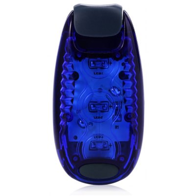 3 LEDs Warning Light with Clip