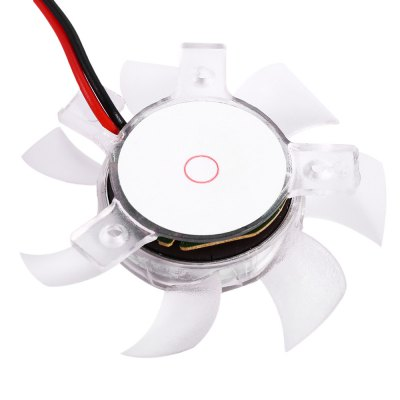 Medium Computer CPU Plastic Cooling Fan Leaves Card Blower Heat Sink