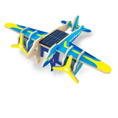 Solar Jet Boomer Falcon P330 Jigsaw Puzzle Building Blocks Environmental DIY Toy