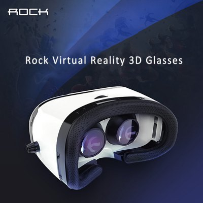 Rock Virtual Reality 3D VR Glasses Sets for 4 - 6 inch Smartphone