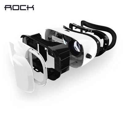 Rock Virtual Reality 3D VR Glasses Sets for 4 - 6 inch Smartphone от GearBest.com INT