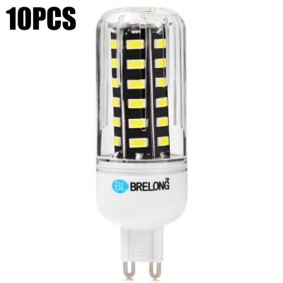 10PCS BRELONG 9W G9 42 x SMD5733 900LM LED Corn Bulb