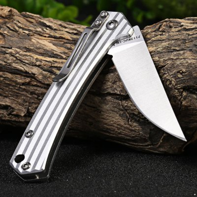 Sanrenmu 7112 RUC-LM Folding Knife with Clip