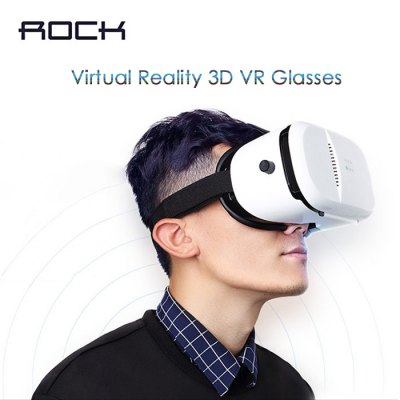 Rock Virtual Reality 3D VR Glasses Sets for 4 - 6 inch Smartphone 177076301