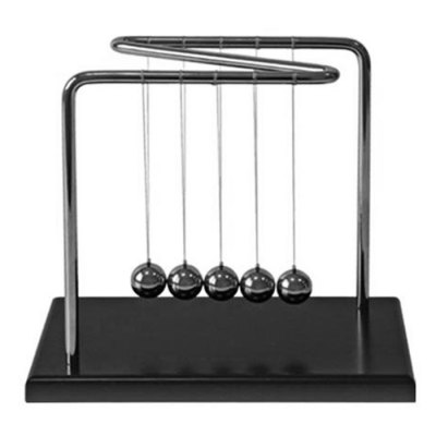 1.8cm Balance Ball Newton Cradle Physical Pendulum Children Educational ToyOffice Toys<br>1.8cm Balance Ball Newton Cradle Physical Pendulum Children Educational Toy<br><br>Features: Educational<br>Materials: Metal, Plastic<br>Package Contents: 1 x Newton Cradle Balance Ball<br>Package size: 14.50 x 12.50 x 15.00 cm / 5.71 x 4.92 x 5.91 inches<br>Package weight: 0.650 kg<br>Product size: 14.00 x 12.00 x 14.50 cm / 5.51 x 4.72 x 5.71 inches<br>Series: Entertainment<br>Theme: Science