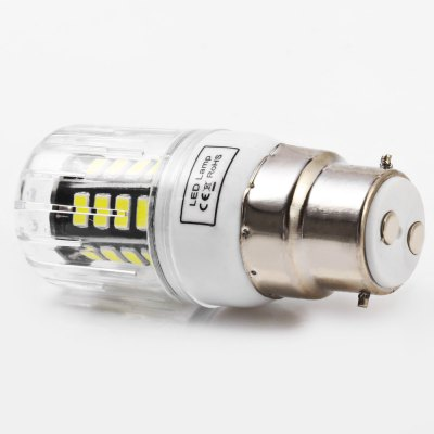 5pcs BRELONG 30 x SMD5733 B22 6W 600LM LED Corn LightCorn Bulbs<br>5pcs BRELONG 30 x SMD5733 B22 6W 600LM LED Corn Light<br><br>Available Light Color: Warm White,White<br>Brand: BRELONG<br>CCT/Wavelength: 3000-3500K,6000-6500K<br>Emitter Types: SMD 5733<br>Features: Long Life Expectancy, Energy Saving<br>Function: Studio and Exhibition Lighting, Commercial Lighting, Home Lighting<br>Holder: B22,E14,E27,G9,GU10<br>Luminous Flux: 600LM<br>Output Power: 6W<br>Package Contents: 5 x BRELONG LED Corn Light<br>Package size (L x W x H): 16.50 x 4.10 x 8.80 cm / 6.5 x 1.61 x 3.46 inches<br>Package weight: 0.180 kg<br>Product size (L x W x H): 3.10 x 3.10 x 7.80 cm / 1.22 x 1.22 x 3.07 inches<br>Product weight: 0.026 kg<br>Sheathing Material: PC<br>Total Emitters: 30<br>Type: Corn Bulbs<br>Voltage (V): AC 220-240