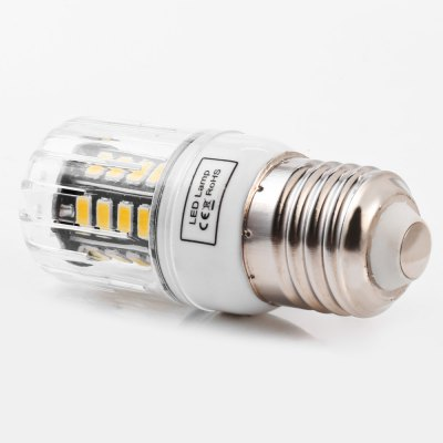 5pcs BRELONG 30 x SMD5733 E27 6W 600LM LED Corn LightCorn Bulbs<br>5pcs BRELONG 30 x SMD5733 E27 6W 600LM LED Corn Light<br><br>Available Light Color: Warm White,White<br>Brand: BRELONG<br>CCT/Wavelength: 3000-3500K,6000-6500K<br>Emitter Types: SMD 5733<br>Features: Long Life Expectancy, Energy Saving<br>Function: Studio and Exhibition Lighting, Commercial Lighting, Home Lighting<br>Holder: B22,E14,E27,G9,GU10<br>Luminous Flux: 600LM<br>Output Power: 6W<br>Package Contents: 5 x BRELONG LED Corn Light<br>Package size (L x W x H): 16.50 x 4.10 x 8.80 cm / 6.5 x 1.61 x 3.46 inches<br>Package weight: 0.180 kg<br>Product size (L x W x H): 3.10 x 3.10 x 7.80 cm / 1.22 x 1.22 x 3.07 inches<br>Product weight: 0.026 kg<br>Sheathing Material: PC<br>Total Emitters: 30<br>Type: Corn Bulbs<br>Voltage (V): AC 220-240