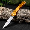 Sanrenmu 7112 RUC-LJ Folding Knife with Clip