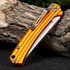 best Sanrenmu 7112 RUC-LJ Folding Knife with Clip