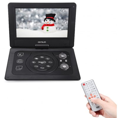 GKNUO GNK-101 10.1 inch Car Portable DVD Multi-function Player 180 Degree Rotation
