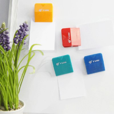 FUNI CT-333 4PCS Color Whiteboard Magnetic Clip Magnetism StickersSchool Supplies<br>FUNI CT-333 4PCS Color Whiteboard Magnetic Clip Magnetism Stickers<br><br>Brand: FUNI<br>Product weight: 0.040 kg<br>Package weight: 0.070 kg<br>Product size (L x W x H): 12.00 x 4.00 x 2.00 cm / 4.72 x 1.57 x 0.79 inches<br>Package size (L x W x H): 14.00 x 5.00 x 2.20 cm / 5.51 x 1.97 x 0.87 inches<br>Package Contents: 4 x Color Magnetic Clip
