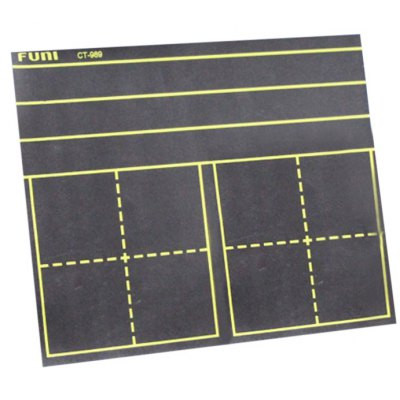 FUNI CT-989 Black Framed Magnetic Dry Erase Board