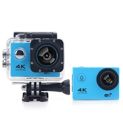 F60B 4K WiFi 170 Degree Wide Angle Action CameraAction Cameras<br>F60B 4K WiFi 170 Degree Wide Angle Action Camera<br><br>Model: F60B<br>Type: Sports Camera<br>Chipset Name: Allwinner<br>Chipset: Allwinner V3<br>System requirements: Mac OS x 10.3.6 above,Win 7,Windows 2000 / XP / Vista<br>Max External Card Supported: TF 64G (not included)<br>Class Rating Requirements: Class 10 or Above<br>Screen size: 2.0inch<br>Screen type: LCD<br>Battery Type: Removable<br>Capacity: 900mAh<br>Charge way: USB charge by PC<br>Working Time: About 90 minutes at 1080P 30fps<br>Wide Angle: 170 degree wide angle<br>Camera Pixel : 8.0MP<br>ISO: Auto<br>Decode Format: H.264<br>Video format: MP4<br>Video Resolution: 1080P (1920 x 1080),2.7K ( 2688 x 1520 ),4K (3200 x 1800),720P (1280 x 720)<br>Video System: NTSC<br>Video Output : HDMI<br>Image Format : JPG<br>Audio System: Built-in microphone/speacker (AAC)<br>Exposure Compensation: +1,+2,+3,-1,-2,-3,0<br>White Balance Mode: Auto,Cloudy,Fluorescent,Incandescent,Sunny<br>Scene: Auto<br>WIFI: Yes<br>WiFi Function: Image Transmission,Remote Control,Settings,Sync and Sharing Albums<br>WiFi Distance : 10m<br>Waterproof: Yes<br>Water Resistant: 30m<br>Loop-cycle Recording : Yes<br>Loop-cycle Recording Time: 2min,3min,5min<br>HDMI Output: Yes<br>Delay Shutdown : Yes<br>Time Stamp: Yes<br>Interface Type: Micro HDMI,Micro USB,TF Card Slot<br>Language: English,French,German,Italian,Japanese,Korean,Polski,Portuguese,Russian,Simplified Chinese,Spanish,Traditional Chinese<br>Operating Temp.: -10 - 55 centigrade degree<br>Product weight: 0.060 kg<br>Package weight: 0.600 kg<br>Product size (L x W x H): 5.00 x 2.00 x 4.10 cm / 1.97 x 0.79 x 1.61 inches<br>Package size (L x W x H): 30.00 x 20.00 x 9.00 cm / 11.81 x 7.87 x 3.54 inches<br>Package Contents: 1 x F60B 4K Action Camera + Waterproof Housing + Long Screw, 1 x Power Adapter, 1 x Frame, 1 x USB Cable, 1 x Flat Surface Base, 1 x Curved Surface Base, 2 x Short Connector + Screw, 1 x Long Connecto