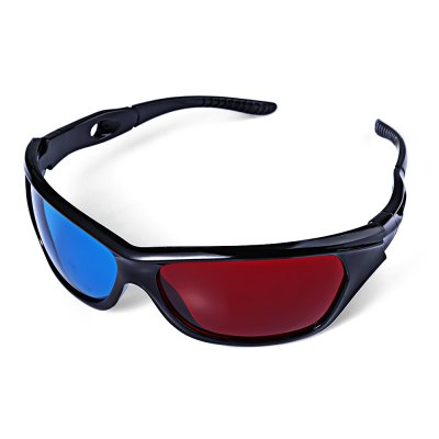 Wonderful Sunglasses-Shaped Red + Blue Lens Anaglyph Circularly 3 Dimensional 3D Glasses for 3D Games 3D DVD MoviesSunglasses &amp; Sports Glasses<br>Wonderful Sunglasses-Shaped Red + Blue Lens Anaglyph Circularly 3 Dimensional 3D Glasses for 3D Games 3D DVD Movies<br><br>Features: Anti-UV<br>Gender: Unisex<br>Lens material: Resin<br>Frame Metarial: Plastic<br>Frame Color: Black<br>Package weight: 0.0530 kg<br>Product Dimension: 12.40 x 12.50 x 1.90 cm / 4.88 x 4.92 x 0.75 inches<br>Package Dimension: 14.00 x 5.00 x 6.00 cm / 5.51 x 1.97 x 2.36 inches<br>Package Contents: 1 x 3D Glasses