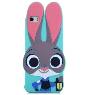 Silicone Soft Protective Back Cover Case for iPhone 5 / 5S / SE