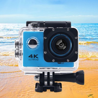F60B 4K WiFi 170 Degree Wide Angle Action CameraAction Cameras<br>F60B 4K WiFi 170 Degree Wide Angle Action Camera<br><br>Battery Type: Removable<br>Camera Pixel : 8.0MP<br>Capacity: 900mAh<br>Charge way: USB charge by PC<br>Chipset: Allwinner V3<br>Chipset Name: Allwinner<br>Class Rating Requirements: Class 10 or Above<br>Decode Format: H.264<br>Delay Shutdown : Yes<br>Exposure Compensation: +1,+2,+3,-1,-2,-3,0<br>Features: Wireless<br>Function: Loop-cycle Recording<br>HDMI Output: Yes<br>Image Format : JPG<br>Interface Type: TF Card Slot, Micro USB, Micro HDMI<br>ISO: Auto<br>Language: English,French,German,Italian,Japanese,Korean,Polski,Portuguese,Russian,Simplified Chinese,Spanish,Traditional Chinese<br>Loop-cycle Recording : Yes<br>Loop-cycle Recording Time: 2min,3min,5min<br>Max External Card Supported: TF 64G (not included)<br>Model: F60B<br>Operating Temp.: -10 - 55 centigrade degree<br>Package Contents: 1 x F60B 4K Action Camera + Waterproof Housing + Long Screw, 1 x Power Adapter, 1 x Frame, 1 x USB Cable, 1 x Flat Surface Base, 1 x Curved Surface Base, 2 x Short Connector + Screw, 1 x Long Connecto<br>Package size (L x W x H): 30.00 x 20.00 x 9.00 cm / 11.81 x 7.87 x 3.54 inches<br>Package weight: 0.6000 kg<br>Product size (L x W x H): 5.00 x 2.00 x 4.10 cm / 1.97 x 0.79 x 1.61 inches<br>Product weight: 0.0600 kg<br>Scene: Auto<br>Screen resolution: 320x240<br>Screen size: 2.0inch<br>Screen type: LCD<br>System requirements: Mac OS x 10.3.6 above,Win 7,Windows 2000 / XP / Vista<br>Time Stamp: Yes<br>Type: Sports Camera<br>Video format: MP4<br>Video Output : HDMI<br>Video Resolution: 1080P (1920 x 1080),2.7K ( 2688 x 1520 ),4K (3200 x 1800),720P (1280 x 720)<br>Video System: NTSC<br>Water Resistant: 30m<br>Waterproof: Yes<br>White Balance Mode: Cloudy, Fluorescent, Incandescent, Sunny, Auto<br>Wide Angle: 170 degree wide angle<br>WIFI: Yes<br>WiFi Distance : 10m<br>WiFi Function: Image Transmission,Remote Control,Settings,Sync and Sharing Albums<br>Working 