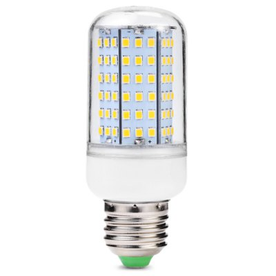 E27 11W 126 x 2835 SMD LED AC220 - 240V 500lm Warm White 3200K Corn Lamp