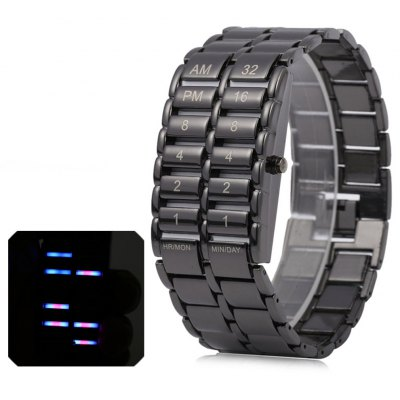 Binary LED Watches