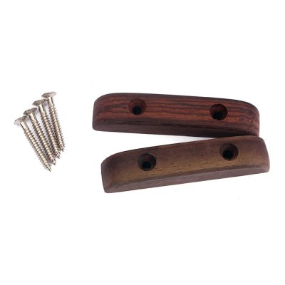 GM - 05 Finger Thumb Rest Rosewood Spare Part for Guitar Bass