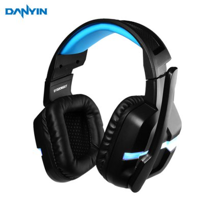 DANYIN DT2206G Gaming Headsets with Mic Voice Control LED Light